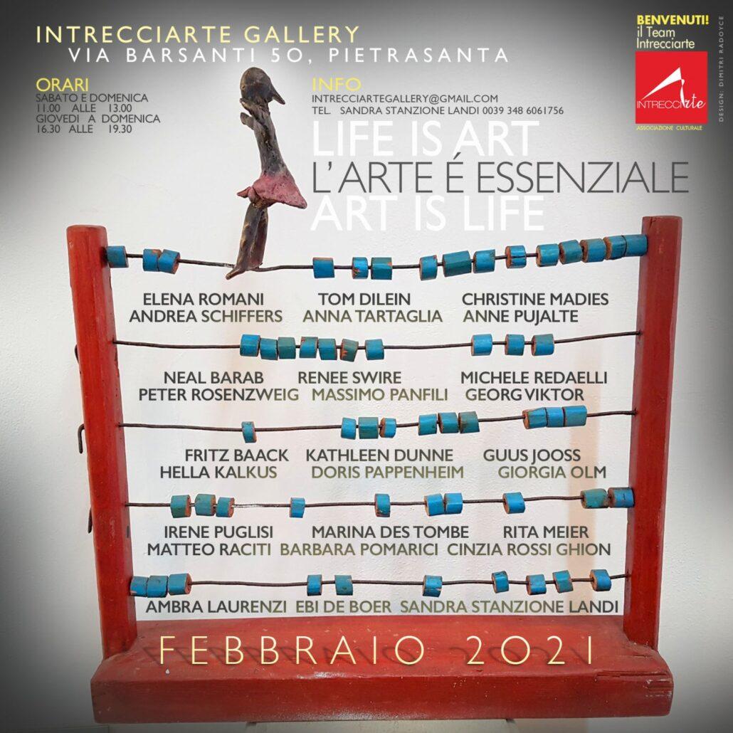 Vi aspettiamo per scoprire la nuova collettiva d'arte di febbraio!